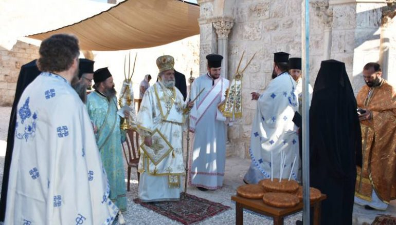 Η εορτή της Αναλήψεως στο Πατριαρχείο Ιεροσολύμων (ΦΩΤΟ-ΒΙΝΤΕΟ)