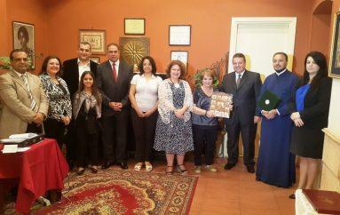 Η Σχολή Βυζαντινής Μουσικής της Ελληνικής Κοινότητας Καΐρου τίμησε την Στέλλα Κυριάζη (ΦΩΤΟ)