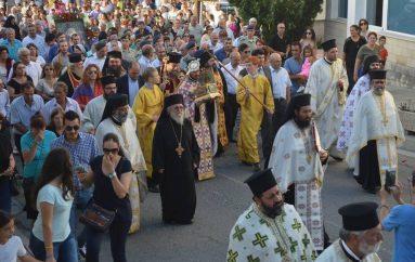 Υποδοχή Ιερού Λειψάνου του Αγίου Λουκά του Ιατρού στην Ι. Μ. Ταμασού (ΦΩΤΟ)