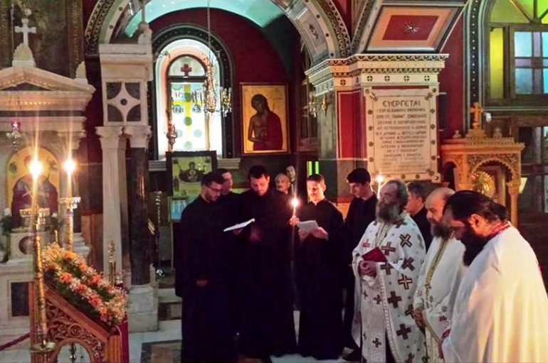 Αγρυπνία για τον Αγ. Λουκά στον Ι. Ναό Αγ. Βασιλείου Τρίπολης (ΦΩΤΟ)