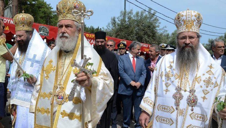 Αρχιερατικό Συλλείτουργο στη Λευκάδα για την Παναγία Φανερωμένη (ΦΩΤΟ – ΒΙΝΤΕΟ)