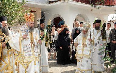 Ο Μητροπολίτης Θεσσαλιώτιδος στην πανήγυρη της Ι. Μονής Αγ. Τριάδος Εδέσσης (ΦΩΤΟ)