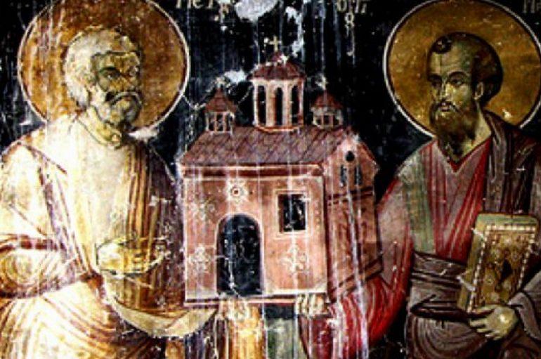 Οι Πρωτοκορυφαίοι Απόστολοι Πέτρος & Παύλος