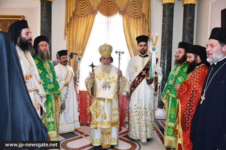 Η εορτή των Αγίων Κωνσταντίνου κι Ελένης στο Πατριαρχείο Ιεροσολύμων (ΦΩΤΟ – ΒΙΝΤΕΟ)