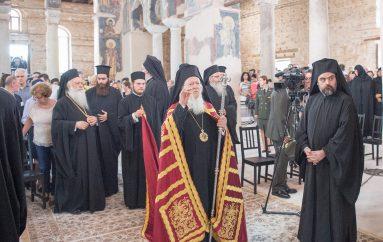 Πατριαρχικός εσπερινός των Πρωτοκορυφαίων Αποστόλων Παύλου και Πέτρου στη Βέροια (ΦΩΤΟ)