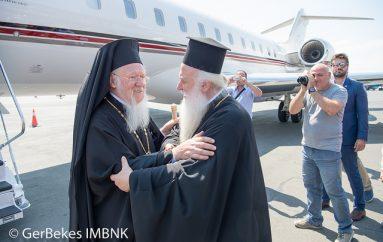 Ο Μητροπολίτης Βεροίας υποδέχθηκε τον Οικ. Πατριάρχη στο Αεροδρόμιο «Μακεδονία» (ΦΩΤΟ)