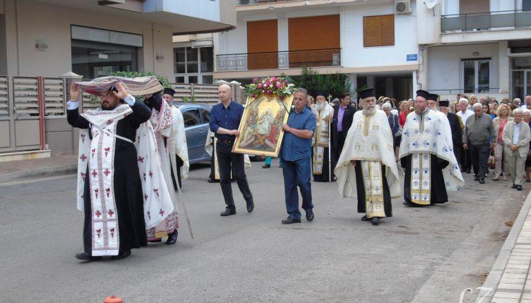 Πανηγυρικός Εσπερινός της Αναλήψεως Ι. Ν. Αγίου Δημητρίου Τρίπολης (ΦΩΤΟ)