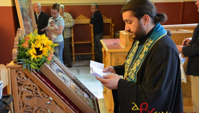 Ιερά Παράκληση προς τον Όσιο Λουκά τον Ιατρό στην Τρίπολη (ΦΩΤΟ)