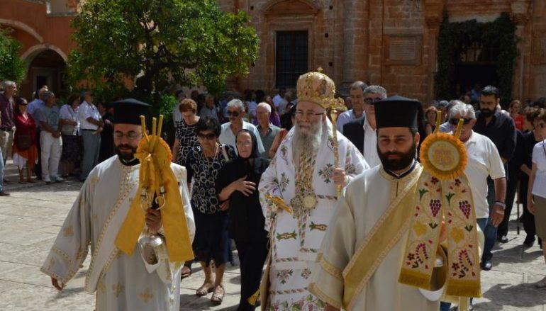 Η εορτή της Πεντηκοστής στην Ι.Μονή Αγίας Τριάδος των Τζαγκαρόλων (ΦΩΤΟ)