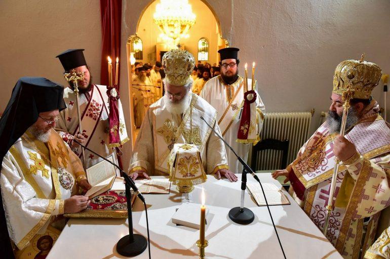 Εγκαίνια Ι. Ν.  Αγίων Ιωάννου του Θεολόγου και Δημητρίου του Μυροβλύτου στην Ι. Μ. Λαγκαδά (ΦΩΤΟ)
