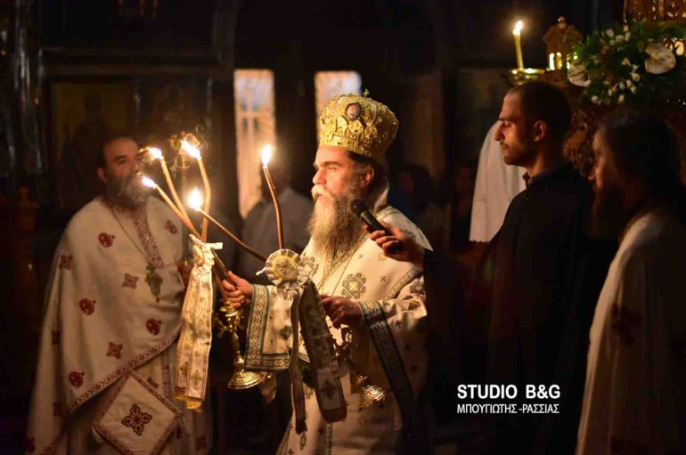 Η εορτή του Αγίου Ιούδα του Θαδαίου στο Ναύπλιο (ΦΩΤΟ)