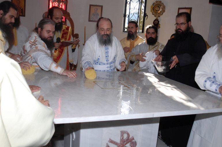 Ο Μητροπολίτης Πατρών εγκαινίασε τον Ι. Ναό Αγ. Χαραλάμπους Τσουκαλεΐκων (ΦΩΤΟ)