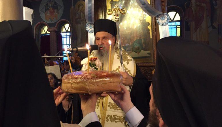 Ο εσπερινός του Αγίου Πνεύματος στην Ι. Μ. Λαρίσης (ΦΩΤΟ)