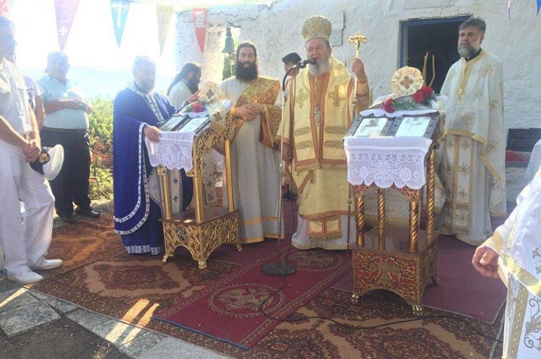 Η εορτή του Ευβοέως Οσίου Γρηγορίου στα Λιχαδονήσια (ΦΩΤΟ)
