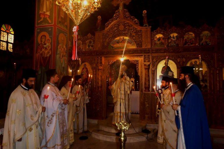 Αγρυπνία επί τη αποδόσει του Πάσχα στον Ι. Ν. Αγίου Αλεξάνδρου Καρδίτσης (ΦΩΤΟ)