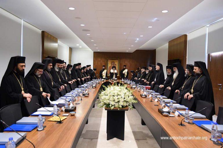 Πατριαρχείο Αντιοχείας: Χωρίς επίλυση της διαφοράς με τα Ιεροσόλυμα η Σύνοδος δεν θα εκφράσει την ενότητα της Εκκλησίας