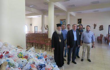 Προσφορά τροφίμων από την Περιφέρεια Στερεάς Ελλάδος και τον «ΣΚΑΪ» στην Ι. Μ. Φθιώτιδος (ΦΩΤΟ)