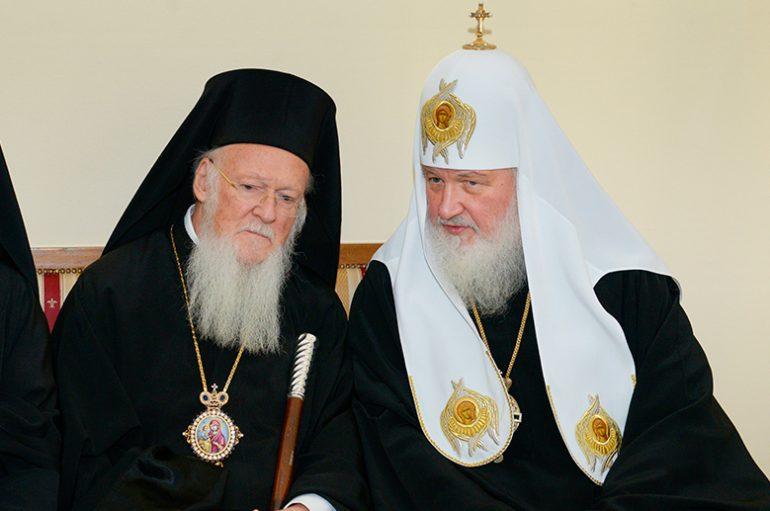 Κύριλλος προς Βαρθολομαίο: «Πρώτα πώς θα καθίσουμε και μετά η Σύνοδος»