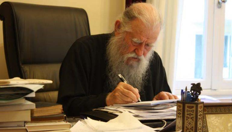 Μητροπολίτης Ηλείας: «Η Ορθόδοξη Εκκλησία είναι δημοκρατική» (ΒΙΝΤΕΟ)
