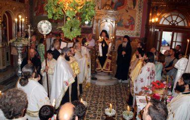 Με λαμπρότητα ο Εσπερινός του Αγίου Παναγή Μπασιά στην Κεφαλλονιά (ΦΩΤΟ)