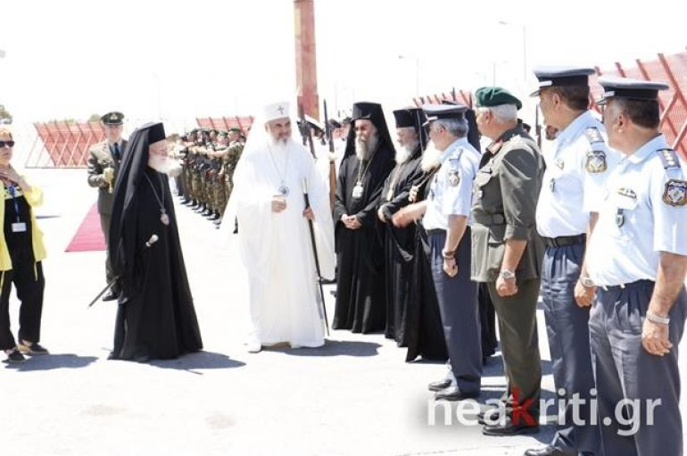 """Οι πρώτες """"υψηλές"""" αφίξεις στην Κρήτη για τη Σύνοδο"""