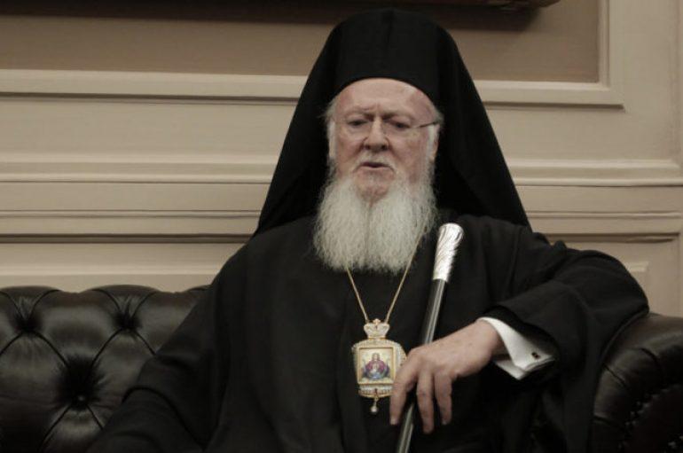 Στην Κρήτη φθάνει, σήμερα το μεσημέρι ο Οικ. Πατριάρχης Βαρθολομαίος