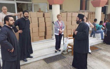 Η «Αποστολή» προσέφερε τρόφιμα σε οικογένειες της Ι. Μ. Μαρωνείας (ΦΩΤΟ)
