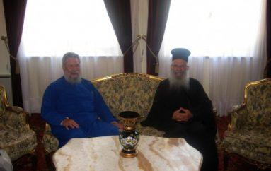 Στον Αρχιεπίσκοπο Κύπρου ο Μητροπολίτης Θυατείρων Γρηγόριος