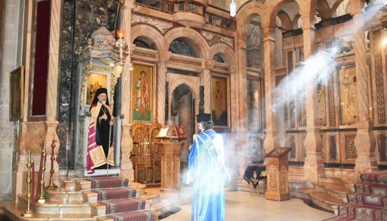 Η εορτή των εν Παλαιστίνη Αγίων στο Πατριαρχείο Ιεροσολύμων (ΦΩΤΟ – ΒΙΝΤΕΟ)