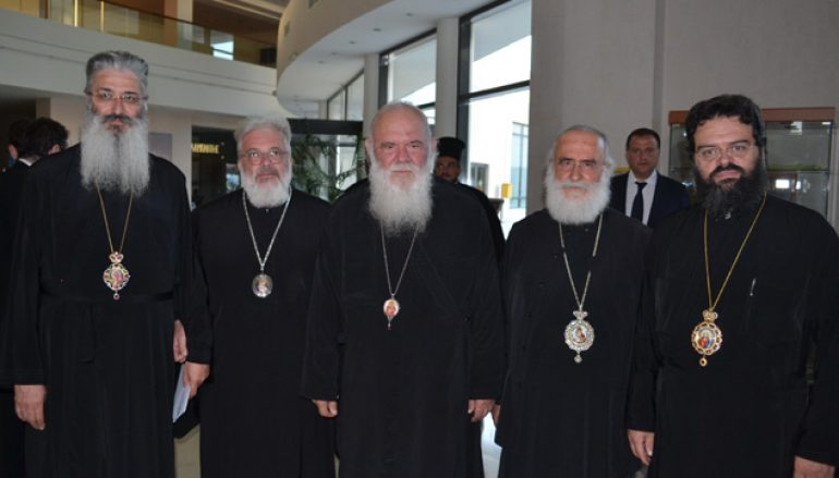 """Αρχιεπίσκοπος Ιερώνυμος: """"Συνεργασία και ανάπτυξη με επίκεντρο τον άνθρωπο"""" (ΦΩΤΟ)"""