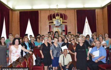 Προσκυνητές από την Ι. Μ. Σητείας στον Πατριάρχη Ιεροσολύμων (ΦΩΤΟ – ΒΙΝΤΕΟ)