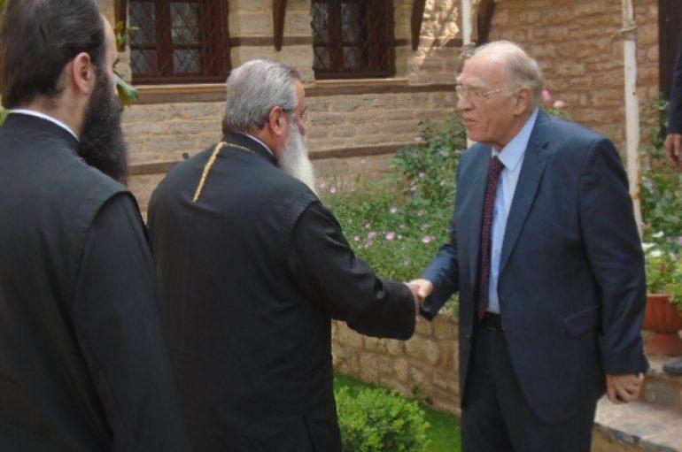 "Mητροπολίτης Κοζάνης σε Λεβέντη: ""Διεφθάρη, σε αξίες και αρχές, ο Έλληνας"" (ΒΙΝΤΕΟ)"