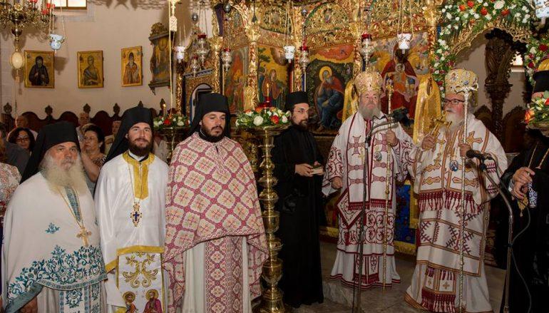 Η εορτή της Παναγίας Τριχερούσης και χειροτονία Πρεσβυτέρου στην Αγ. Τριάδα των Τζαγκαρόλων (ΦΩΤΟ)