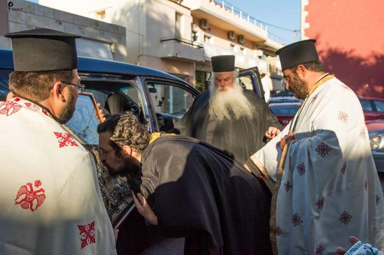 """Υποδοχή της """"Χαράς των Θλιβομένων"""" στις Καλύβες Χανίων (ΦΩΤΟ)"""