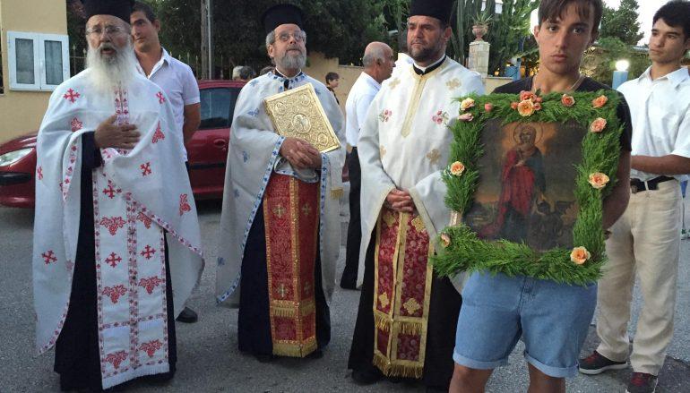 Η εορτή της Αγίας Μαρίνης στο Κάστρο Κυλλήνης (ΦΩΤΟ)