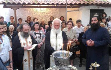 Ο εσπερινός της Αγίας Παρασκευής στην Τρίπολη (ΦΩΤΟ)