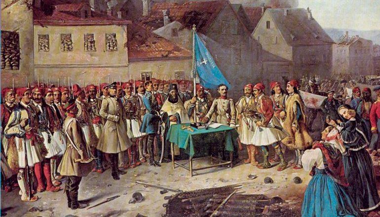 Αποκαλυπτήρια μνημείου υπέρ της ελληνικής λεγεώνας της Κριμαίας