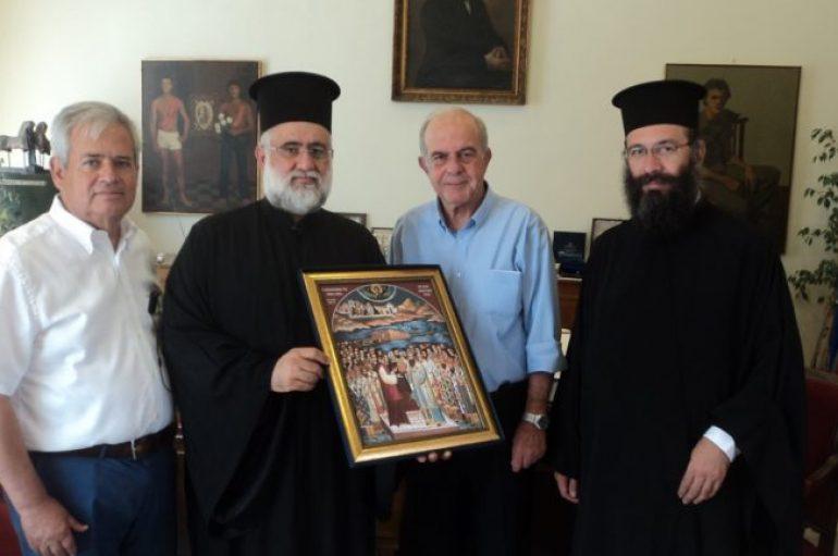 Ευχαριστήριο της Αρχιεπισκοπής Κρήτης στο Δήμαρχο Ηρακλείου για την διεξαγωγή της Μεγάλης Συνόδου