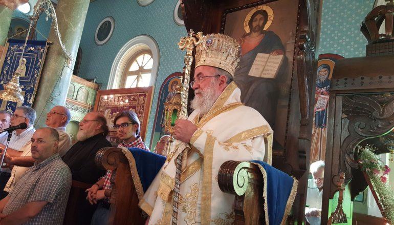 Η εορτή του Αγ. Ανδρέου Αρχιεπισκόπου Κρήτης στην Ι. Μ. Ελευθερουπόλεως (ΦΩΤΟ)