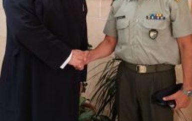 Ο Διοικητής της ΕΛΔΥΚ στον Αρχιεπίσκοπο Κύπρου