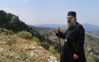 Στήν παλαιά καί ἐρειπωμένη Μονή τοῦ Ταξιάρχη τῆς Τριταίας Πατρῶν