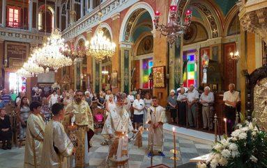 Ο Μητροπολίτης Γλυφάδος στον Άγιο Νικόλαο Ερμουπόλεως Σύρου (ΦΩΤΟ)
