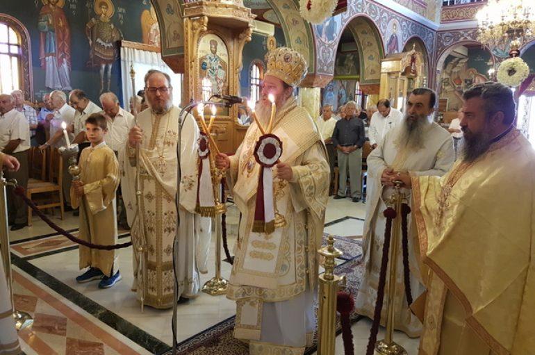 Η εορτή του Αγίου Παντελεήμονος στην Πάτρα (ΦΩΤΟ)