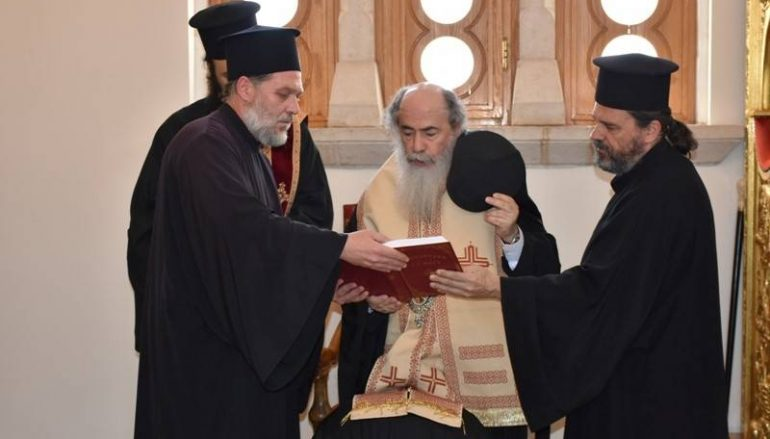 Κουρά νέου μοναχού στο Πατριαρχείο Ιεροσολύμων (ΦΩΤΟ – ΒΙΝΤΕΟ)
