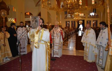 Αρχιερατική Θ. Λειτουργία στον Ιερό Ναό Αγίου Παντελεήμονος Πολίχνης (ΦΩΤΟ)