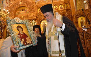 Εσπερινός του Αγίου Παντελεήμονος στην Ι. Μ. Νεαπόλεως (ΦΩΤΟ)