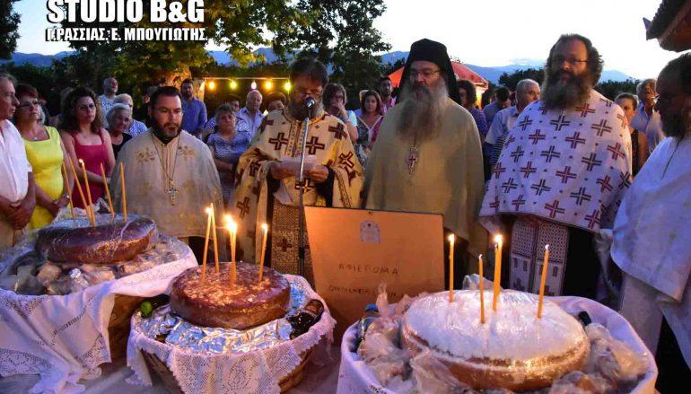 Εσπερινός της Αγίας Μαρίνας στον Ίναχο Αργολίδος (ΒΙΝΤΕΟ, ΦΩΤΟ)