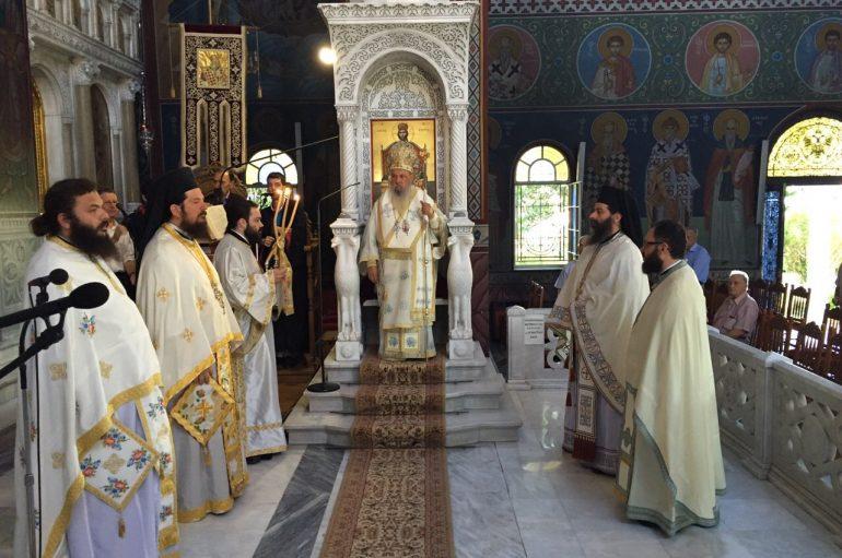 Η εορτή της Αγίας Μαρίνας στην Ι. Μ. Λαρίσης (ΦΩΤΟ)