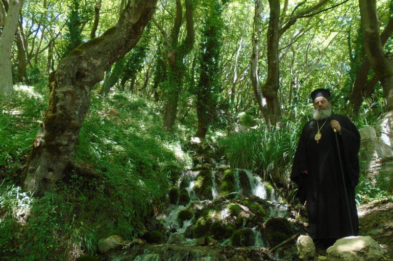 Ο Επίσκοπος Κερνίτσης στο πάτημα του Αγίου Ανδρέα (ΦΩΤΟ)