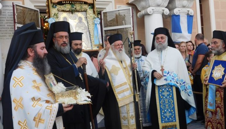 Η εορτή των Αγίων Αναργύρων στον ομώνυμο Δήμο Αττικής (ΦΩΤΟ)